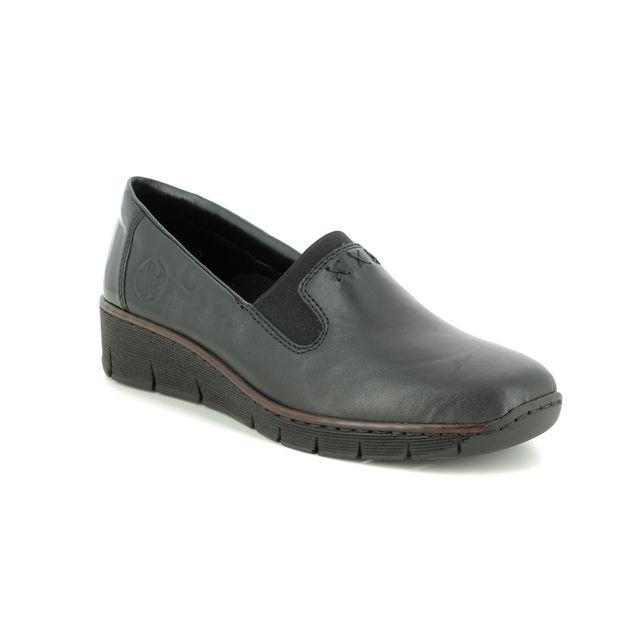 Rieker Comfort Shoes - Black - 53762-01 BOCCIBANK
