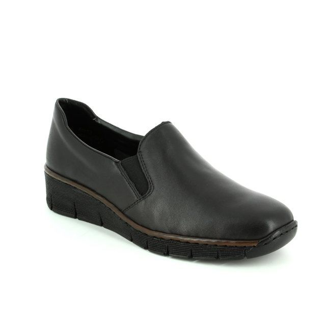 Rieker Comfort Shoes - Black - 53766-00 BOCCIAGO