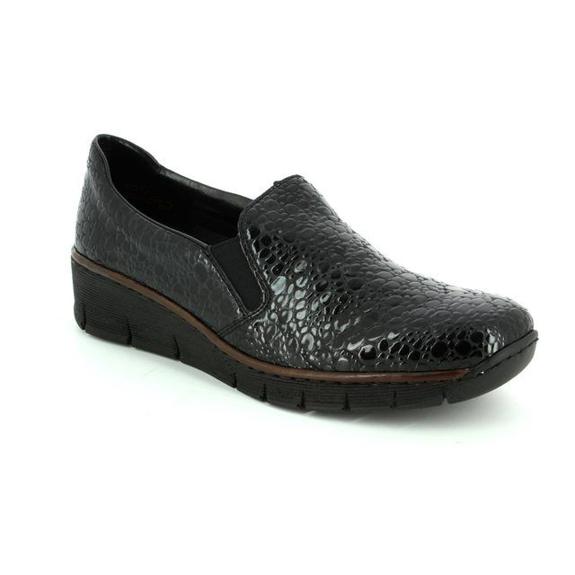 Rieker Comfort Shoes - Black - 53766-45 BOCCIAGO