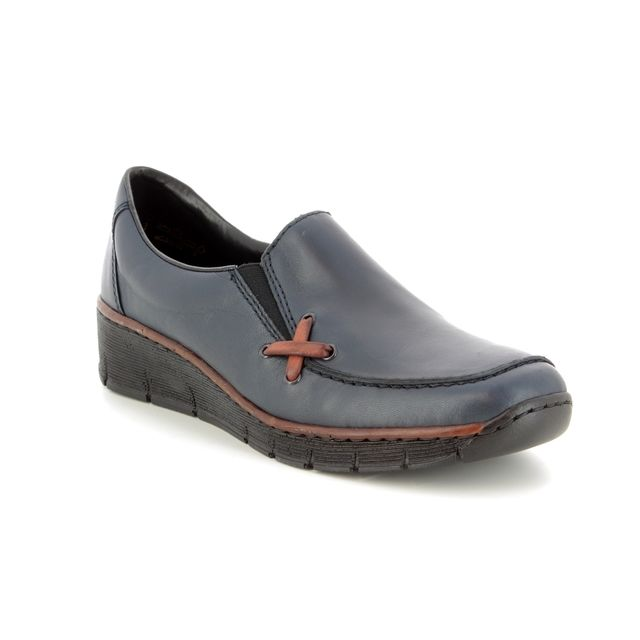 Rieker Comfort Shoes - Navy - 53783-14 BOCCICRO