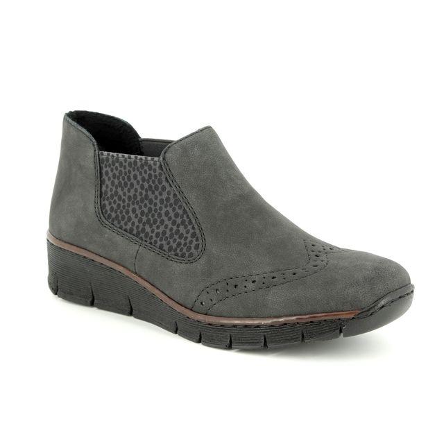 Rieker Chelsea Boots - Grey - 537Z3-45 BOCCILEP