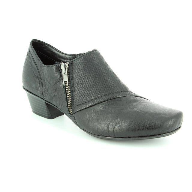 Rieker Shoe-boots - Black - 53851-00 MIROTTA