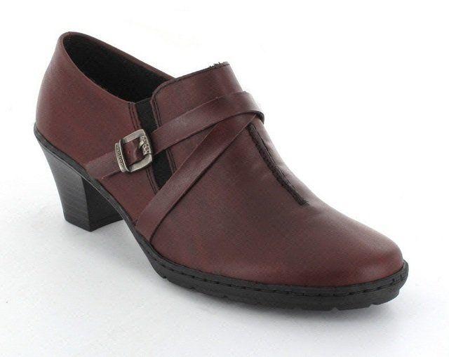 Rieker 57154-35 Wine shoe-boots