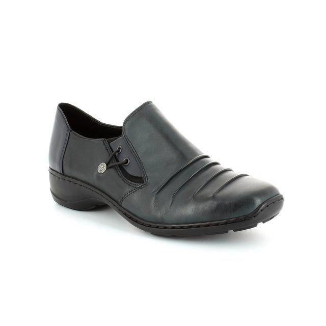 Rieker 58353-14 Navy comfort shoes