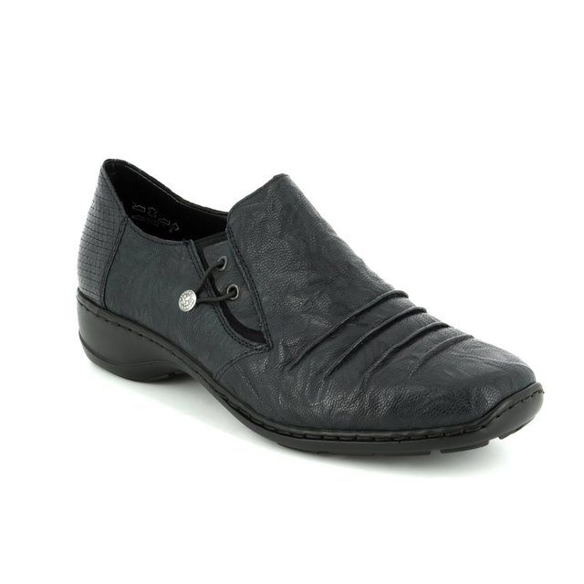 Rieker Comfort Shoes - Navy multi - 58353-15 DORWIN