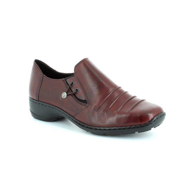 Rieker Comfort Shoes - Wine - 58353-35 DORWIN