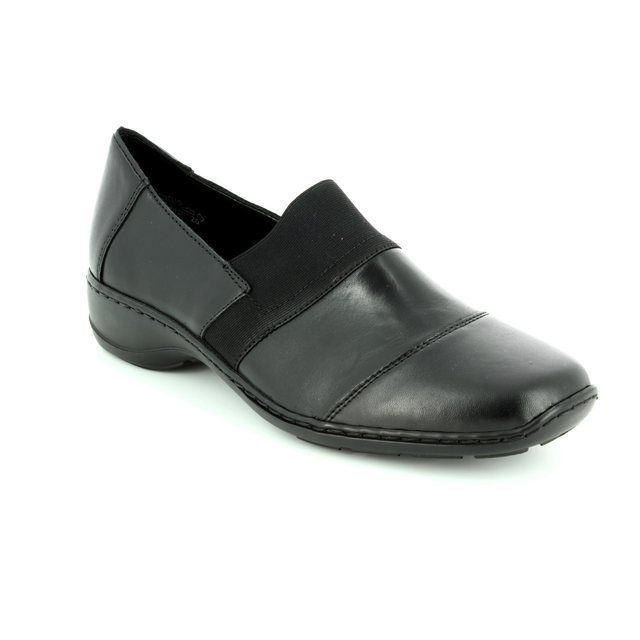 Rieker 58355-00 Black comfort shoes