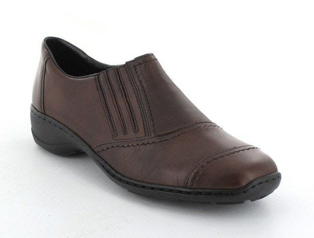 Rieker 58378-25 Brown comfort shoes