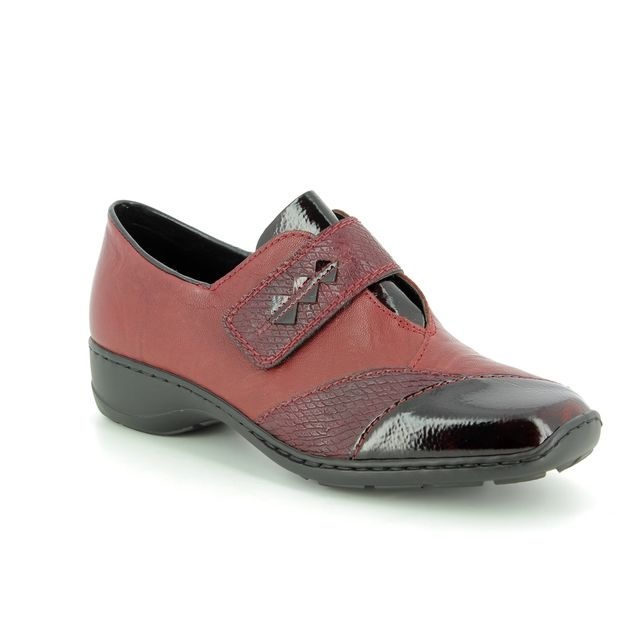 Rieker Comfort Shoes - Wine multi - 58397-35 DORVAL