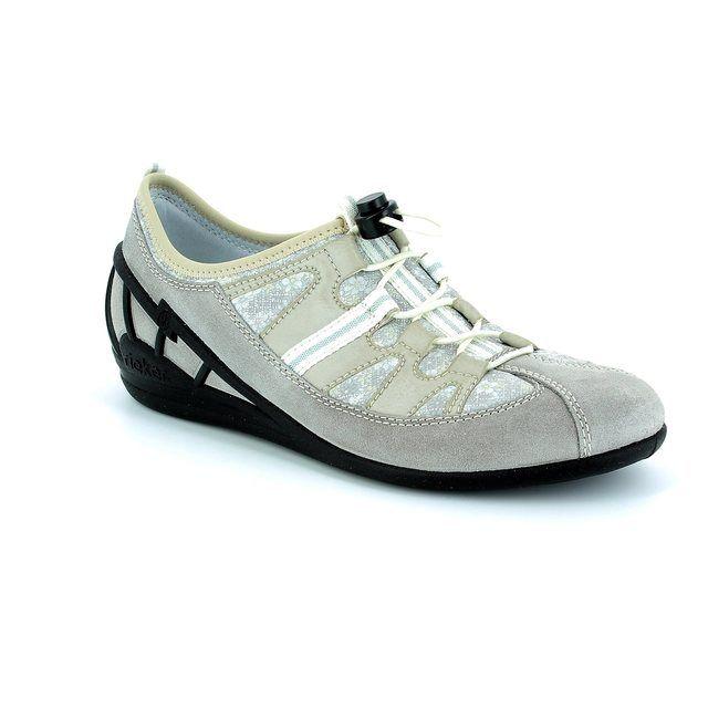 Rieker 59570-40 Light taupe multi trainers