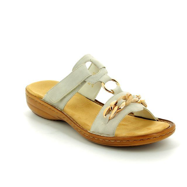 Rieker Sandals - White - 60890-80 REGINACHA
