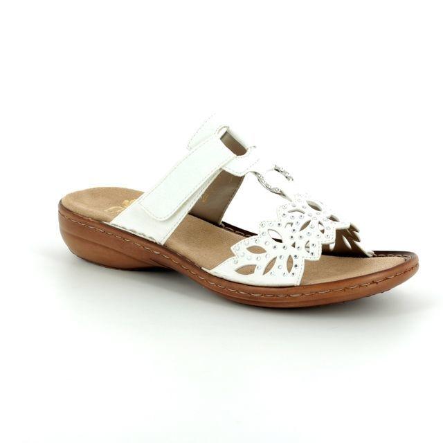 Rieker Sandals - White - 608A6-80 REGINAST