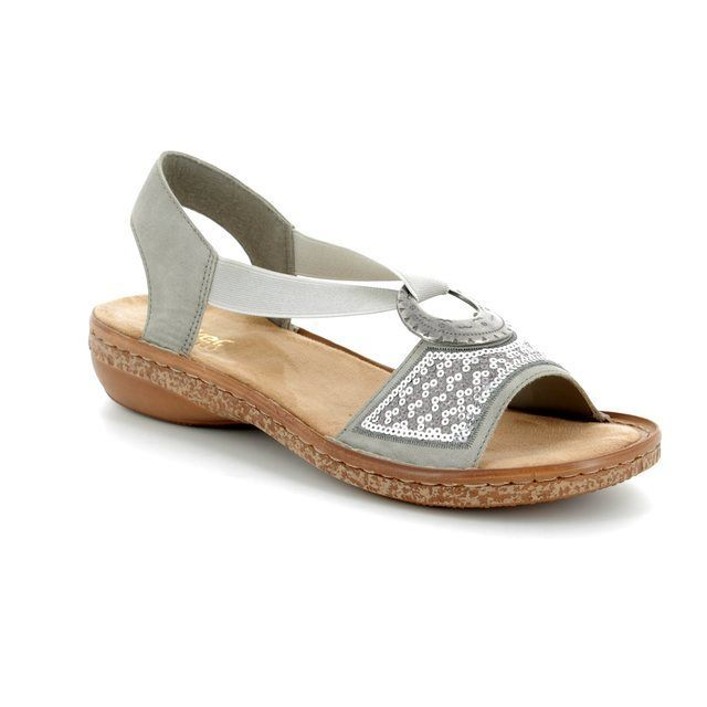 Rieker Sandals - Light taupe - 62809-40 REGINELS