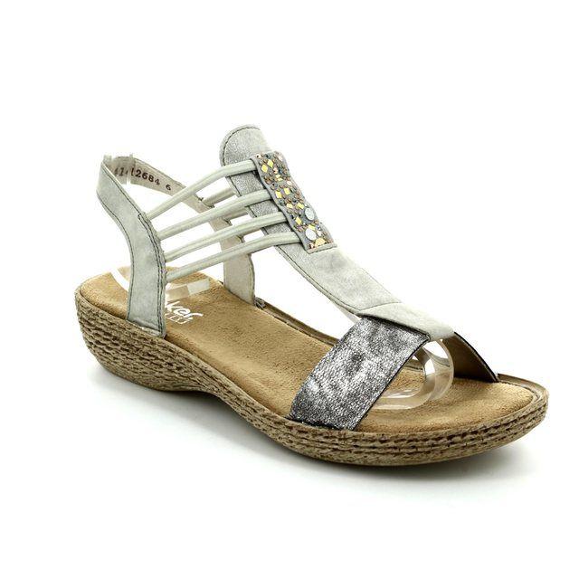 Rieker Sandals - Metallic multi - 658Y3-90 REGILOLA