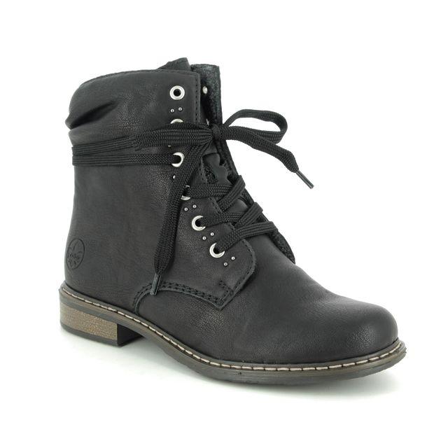 Rieker Ankle Boots - Black - 71218-00 PEERST