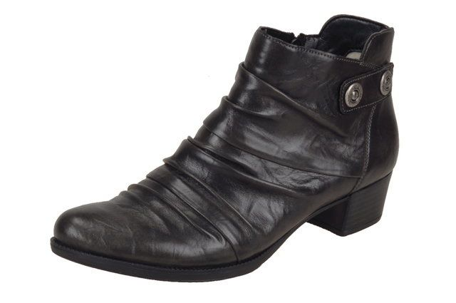 Rieker 76663-45 Dark Grey ankle boots