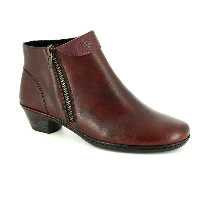 Rieker Ankle Boots - Wine multi - 76961-35 LYNNCUFF