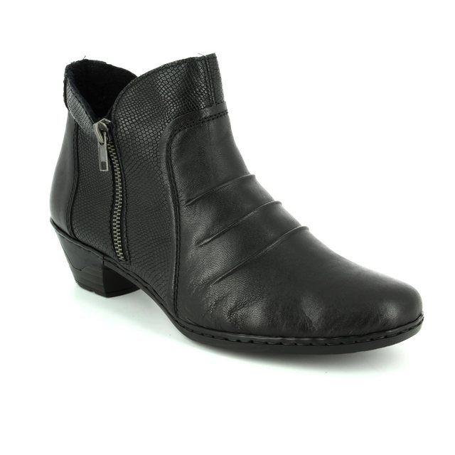 Rieker Ankle Boots - Black multi - 76962-00 LYNNSKIN