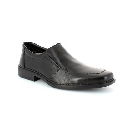 Rieker B0875-00 Black formal shoes