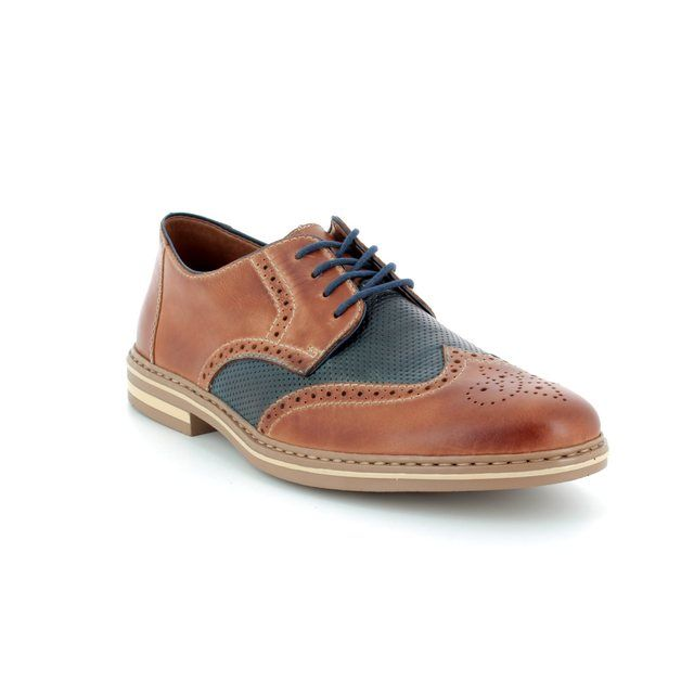 Rieker B14B8-25 Tan Navy