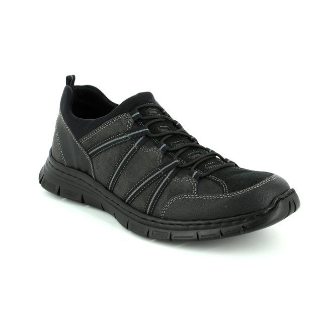 Rieker Casual Shoes - Black multi - B4871-03 SKETCH