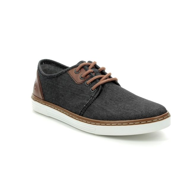 Rieker Trainers - Black tan - B4932-46 PORTER