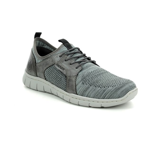 Rieker Trainers - Grey - B8775-42 FLEX SLIPON