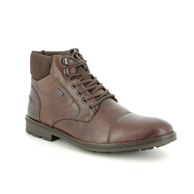 Rieker Boots - Brown - F5514-26 BRAINY