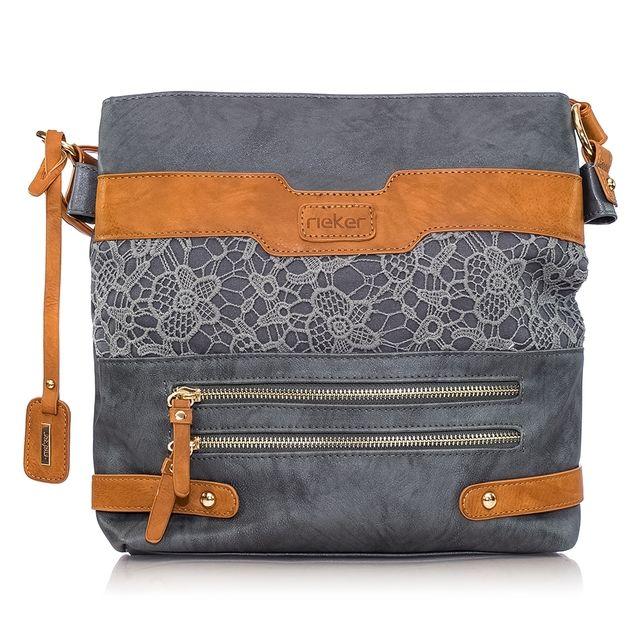 Rieker Handbag - Grey multi - H1347-14 PRESTON