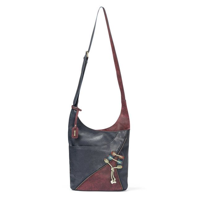 Rieker H1405-14 Navy Wine handbag