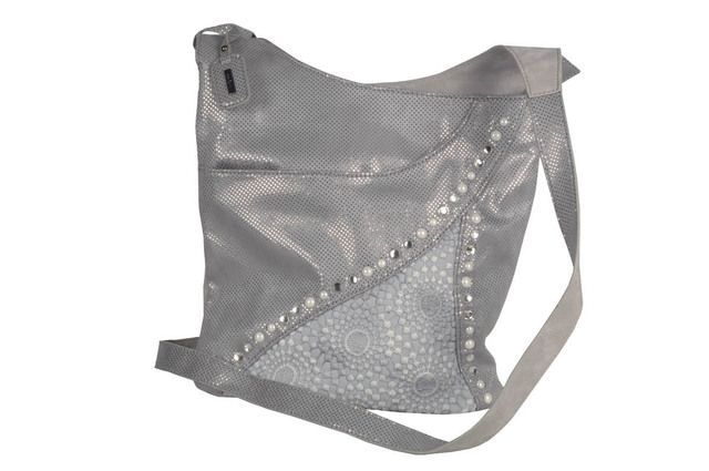 Rieker Handbag - Light grey multi - H1438-42 BACAU 2 POCKET