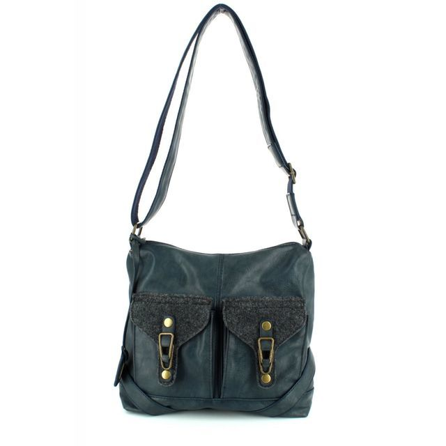 Rieker H1440-16 Navy handbag