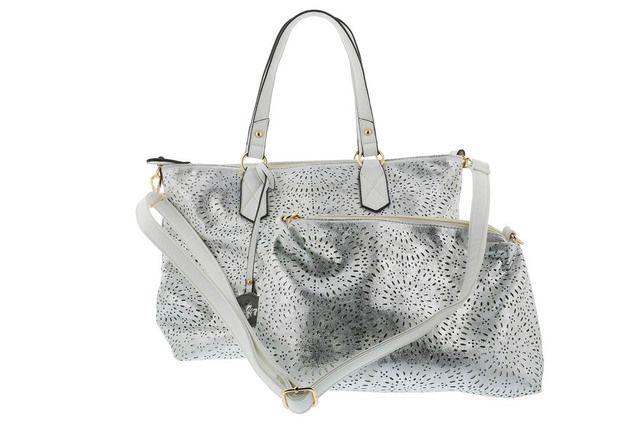 Rieker Handbag - Silver - H1456-90 ARAGAZ