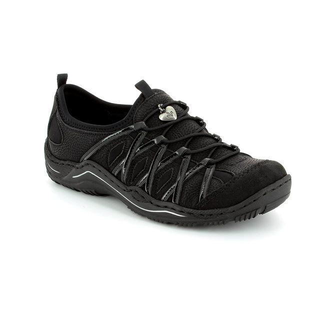Rieker L0564-01 Black trainers