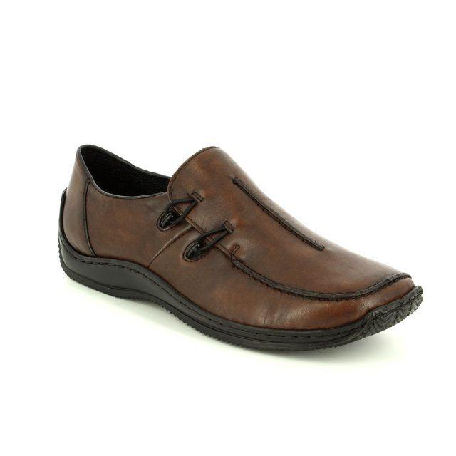 Rieker Comfort Shoes - Brown - L1751-25 CELIA 72