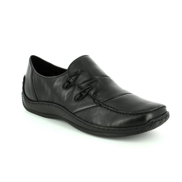 Rieker Lacing Shoes - Black - L1762-00 CELIAPA
