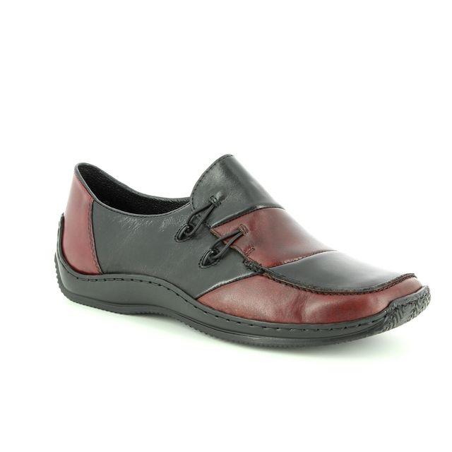 Rieker Comfort Shoes - Black wine - L1762-36 CELIAPA