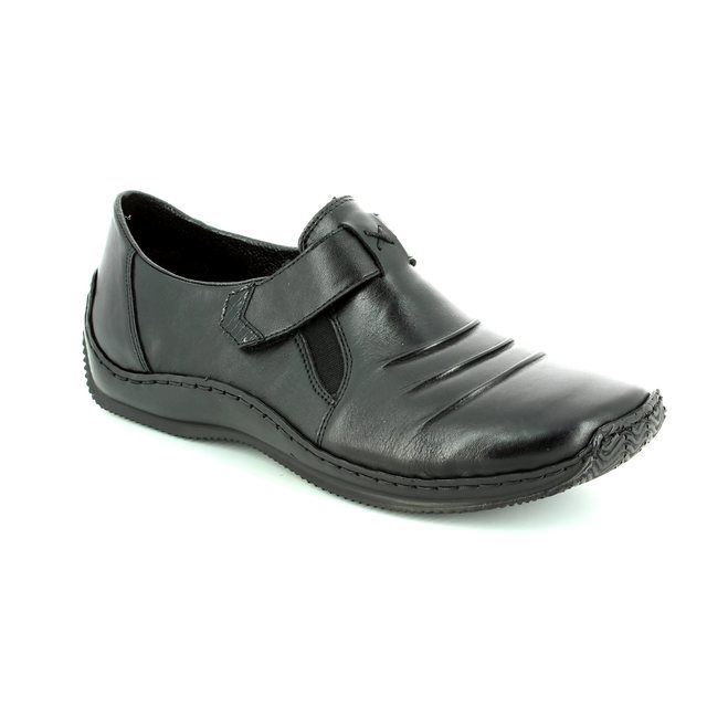 Rieker L1763-00 Black comfort shoes