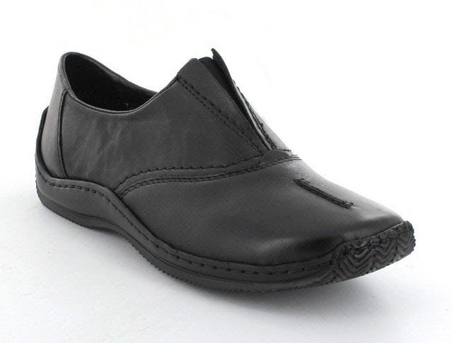 Rieker L1774-00 Black comfort shoes