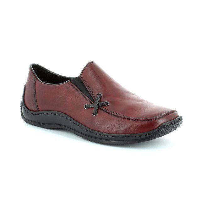 Rieker L1783-36 Wine lacing shoes