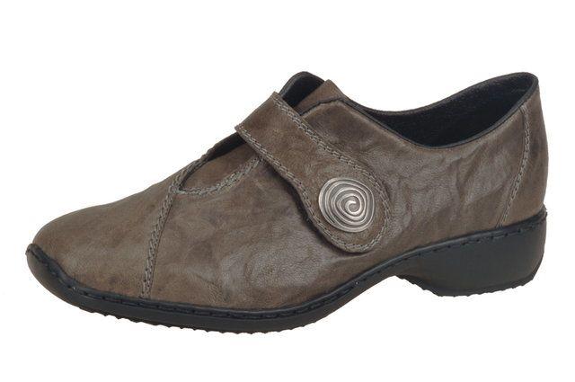 Rieker L3870-45 Grey lacing shoes
