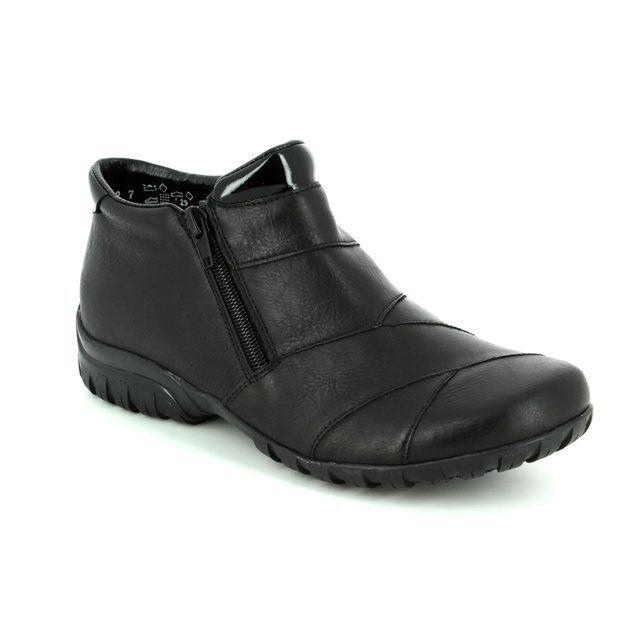 Rieker Ankle Boots - Black - L4673-01 BIRBOPATCH