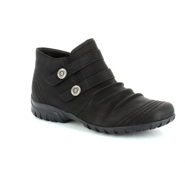 Rieker L4690-02 Black ankle boots