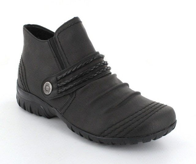 Rieker L4698-46 Dark Grey ankle boots