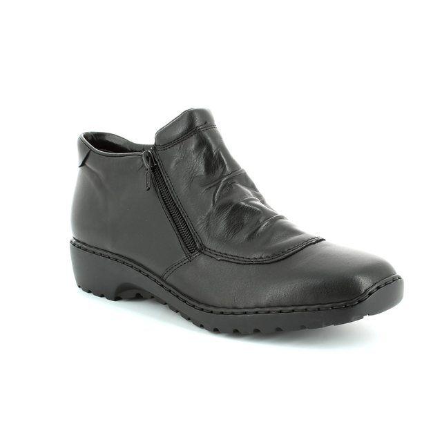Rieker Ankle Boots - Black - L6052-00 BORBOTWIN