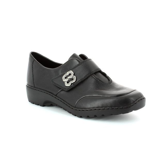 Rieker L6060-00 Black comfort shoes