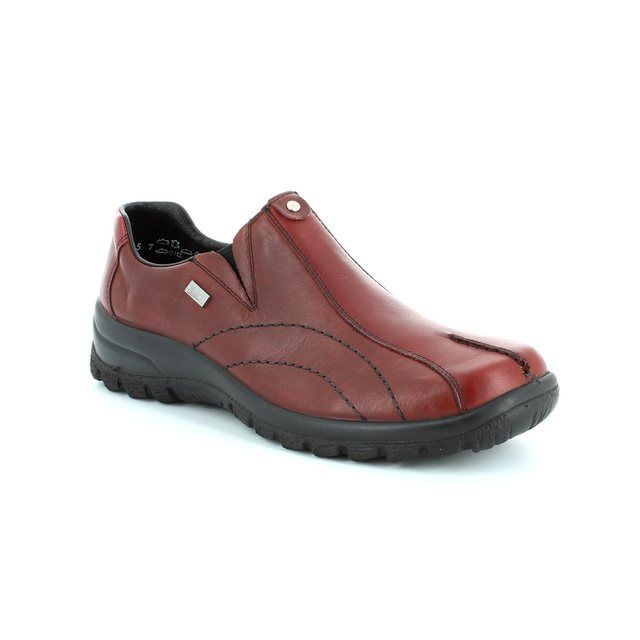 Rieker L7153-33 Wine lacing shoes