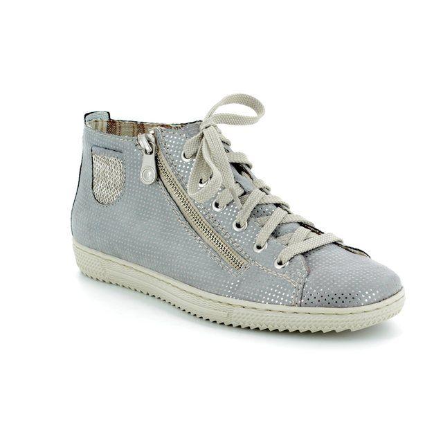 Rieker Ankle Boots - Light grey multi - L9402-42 TENARO