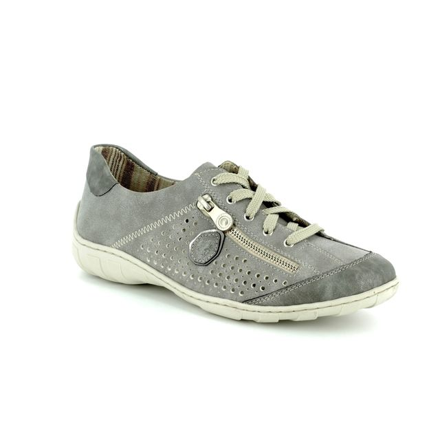 Rieker Lacing Shoes - Grey - M3705-45 LIVERDEE