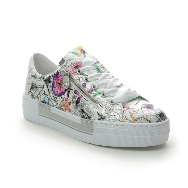 Rieker Trainers - Floral print - N49C2-90 LIMAFLO